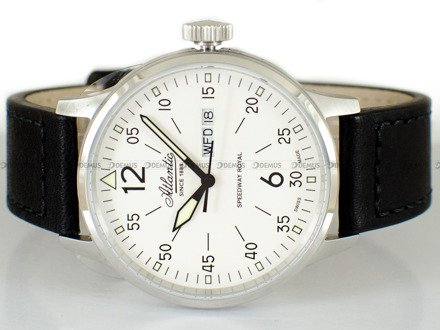 Zegarek Męski Atlantic Speedway Royal Day-Date 68351.41.25